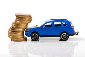 car accident and insurance concept